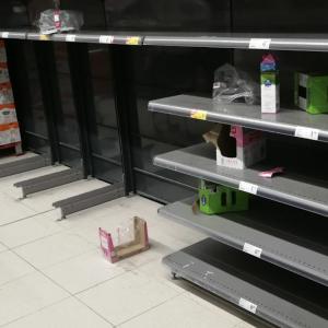 Cuando la gente está en el supermercado no piensa en la muerte